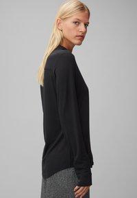 Marc O'Polo - Button-down blouse - black - 3