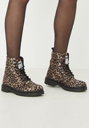 SNEAKER BLAKE - Ankle Boot - brown leopard
