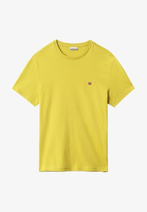 SALIS - T-shirt basique - dark yellow