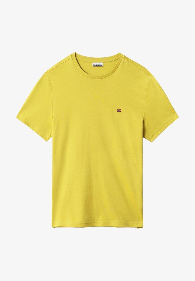 SALIS - Camiseta básica - dark yellow