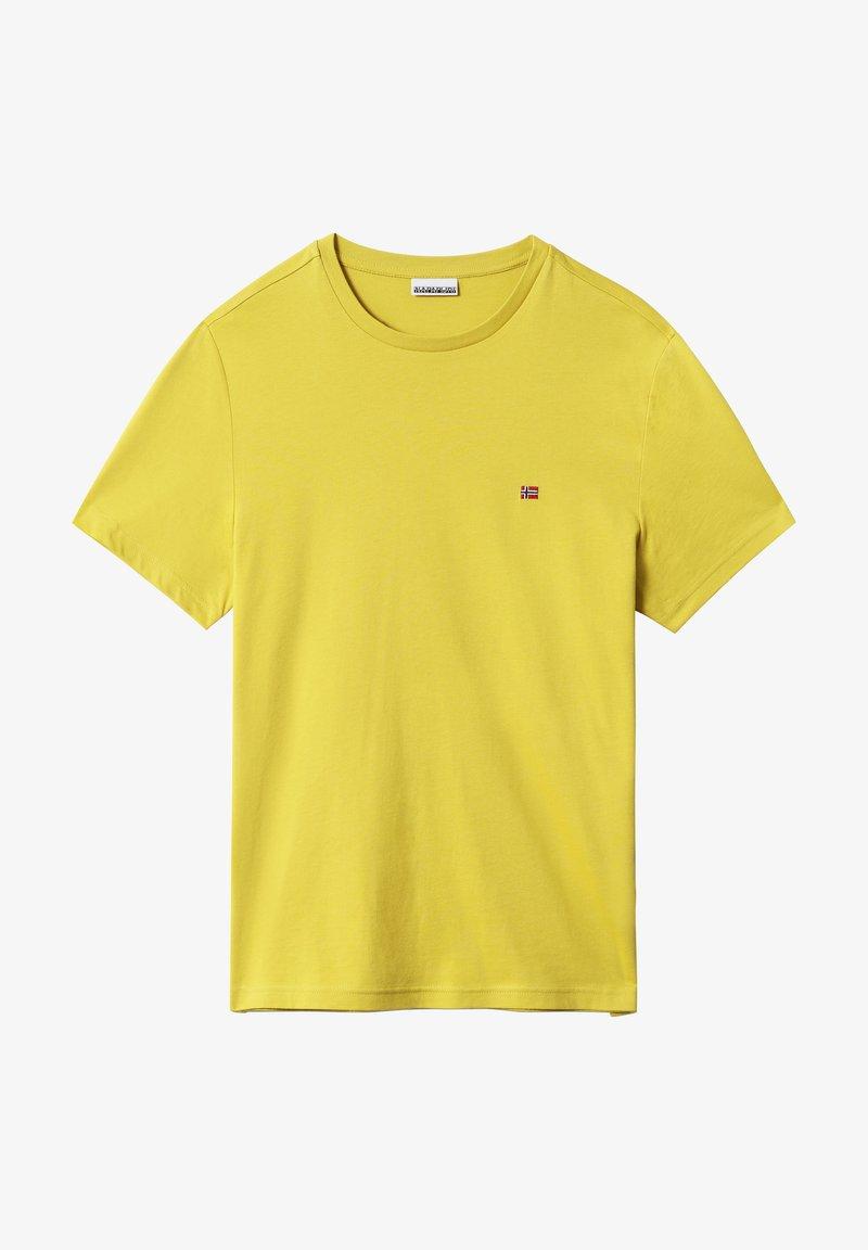 Napapijri - SALIS - T-shirt basic - dark yellow