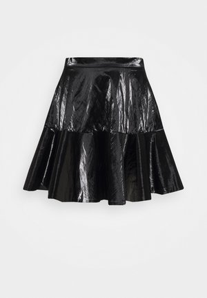 Pleated skirt - nero