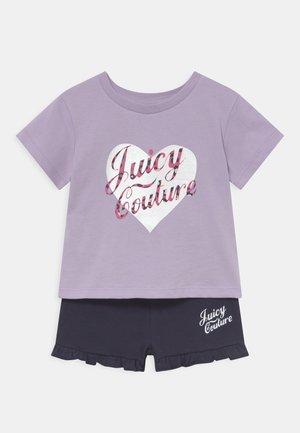 BABY HEART TEE SET - T-shirt print - lilac