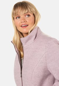 Ulla Popken - Pitkä takki - light pink - 1
