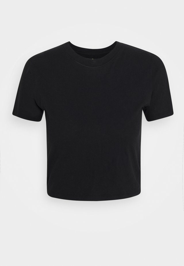 ROSA - T-shirt basic - black