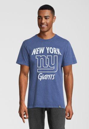 NFL NY GIANTS  - T-shirt print - blau