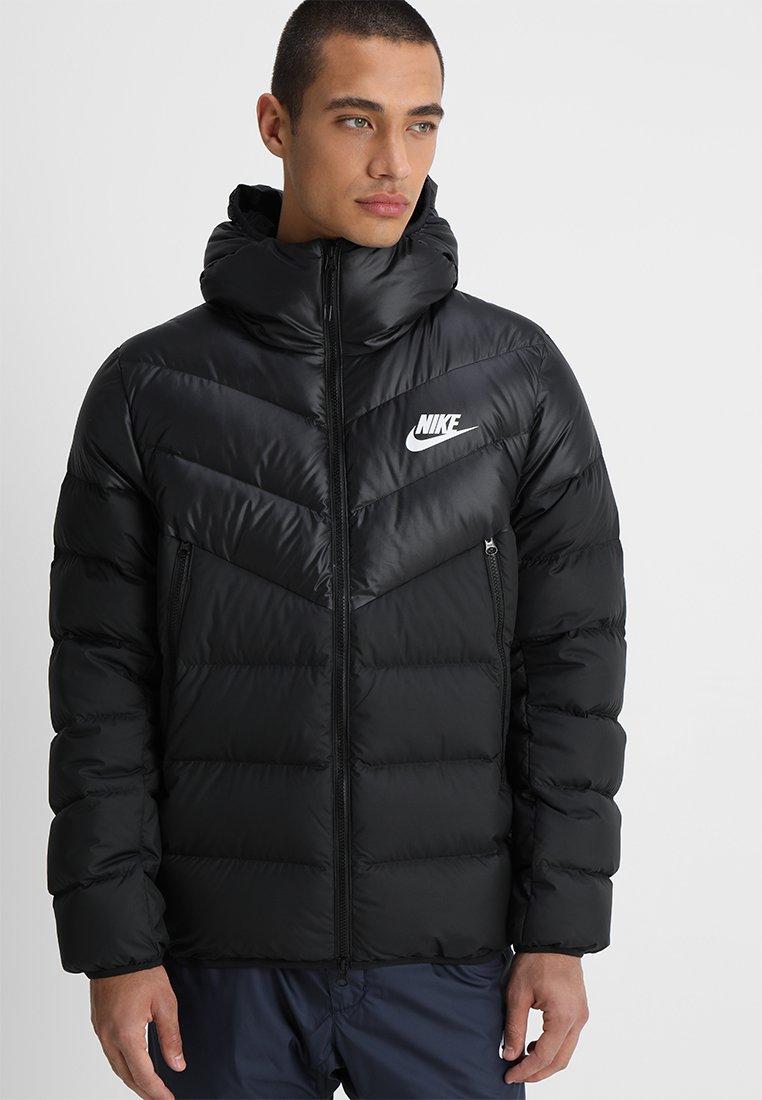 Nike Sportswear - Down jacket - black/white
