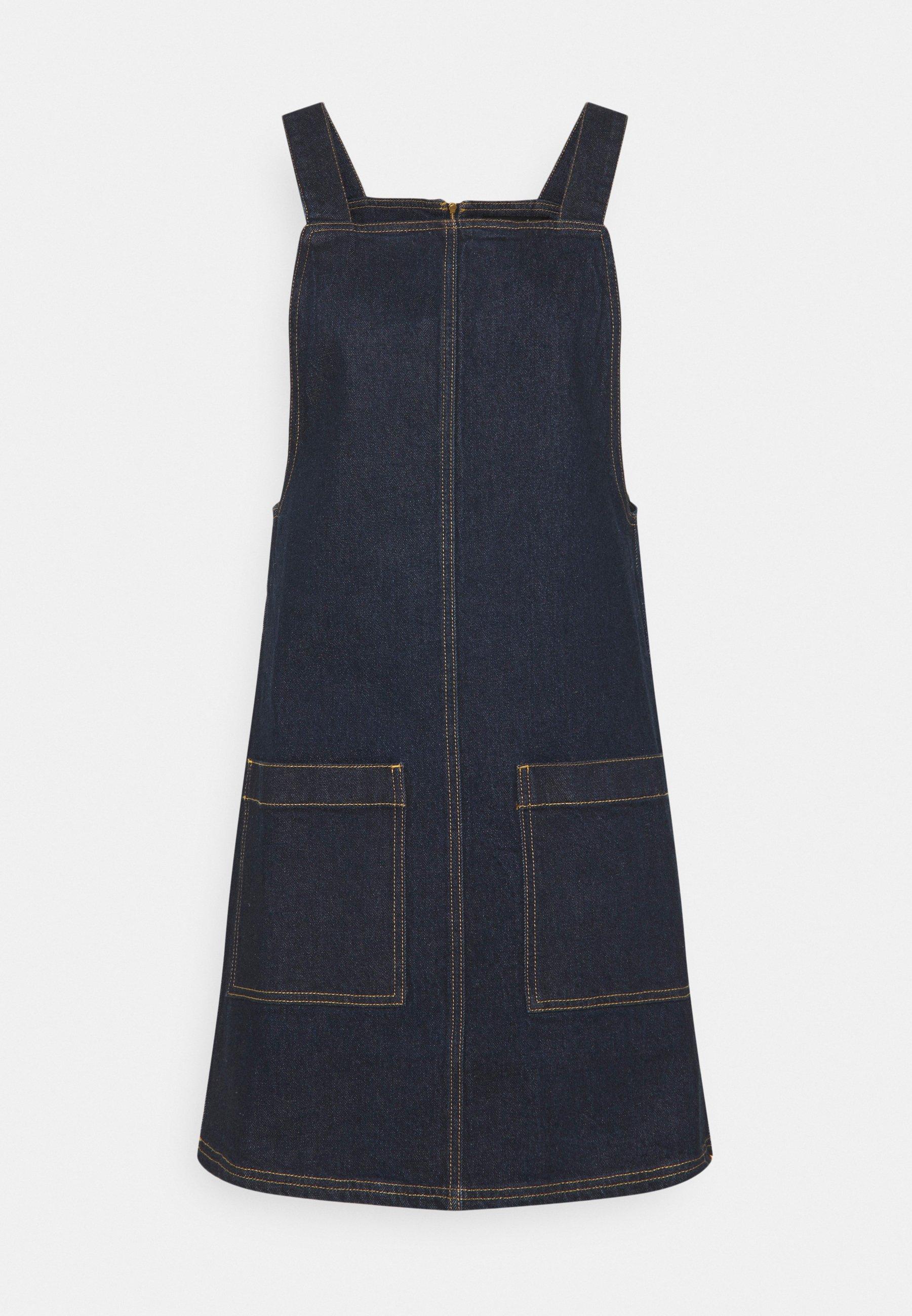 Women ESSENTIAL PINAFORE - Denim dress