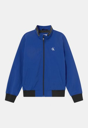 LOGO ELASTIC LIGHT - Bomber Jacket - blue