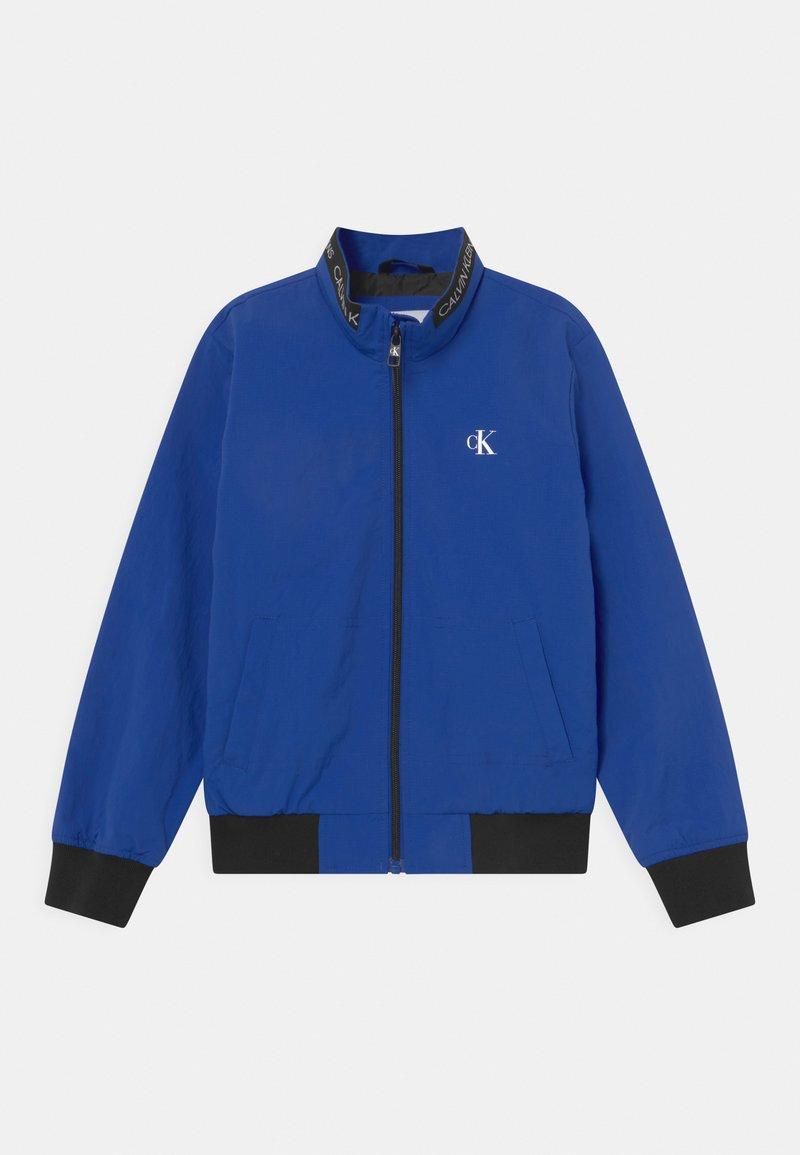 Calvin Klein Jeans - LOGO ELASTIC LIGHT - Blouson Bomber - blue