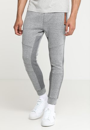 GYM TECH STREET - Tracksuit bottoms - grey grit/urban grey heather