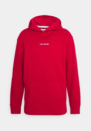 SPORT SOLID - Sudadera - red