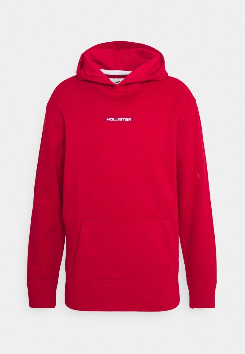 Hollister Co. - SPORT SOLID - Sweatshirt - red