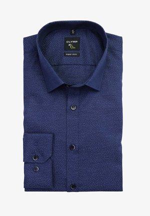 SIX SUPER SLIM - Shirt - dunkelblau