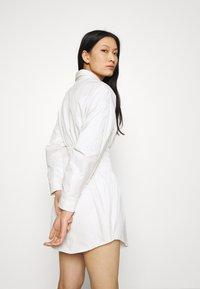 Mossman - THE SHADOW DRESS - Shirt dress - white - 3