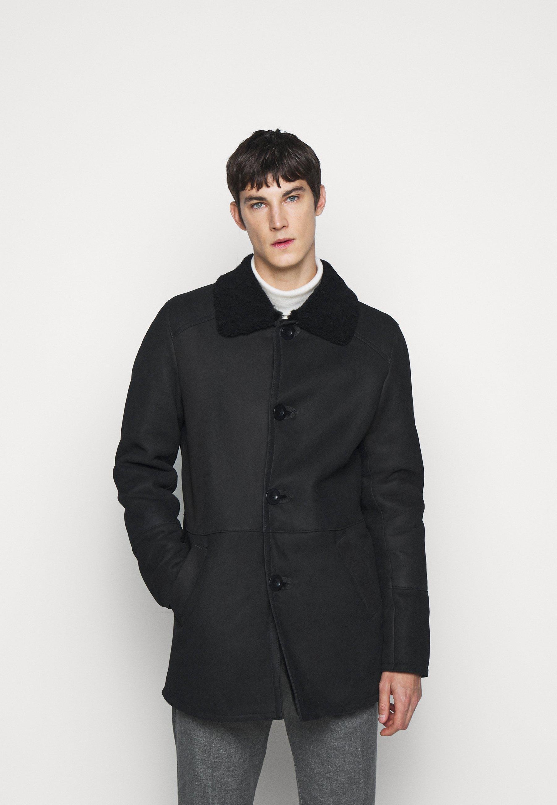 Men BURGALESE  - Leather jacket