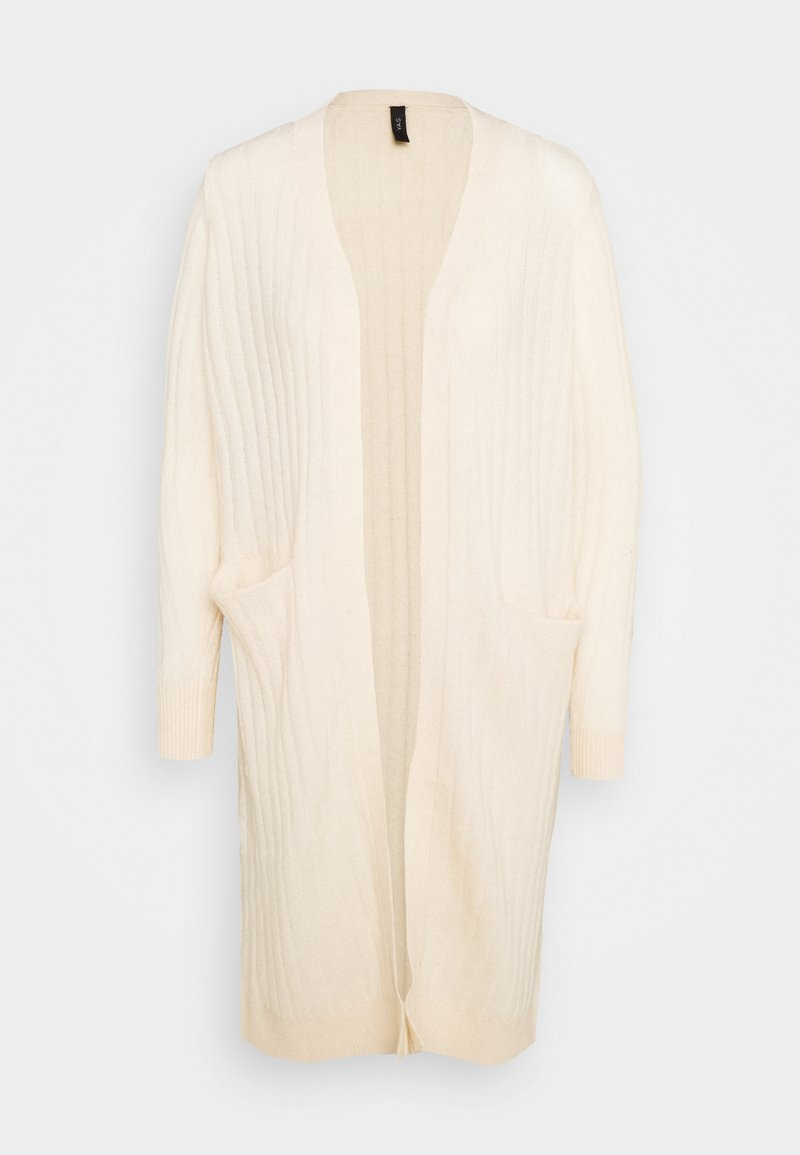 YAS Petite - YASCAMPUS LONG CARDIGAN - Cardigan - off-white