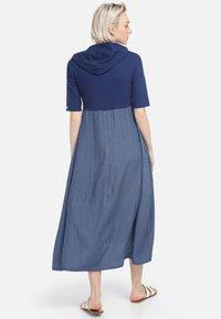 HELMIDGE - Day dress - schmalband blau - 1