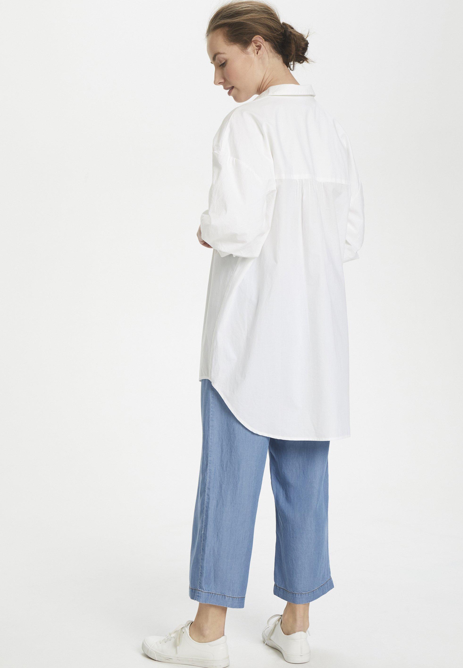 Culture CUOLENA - Chemisier - white