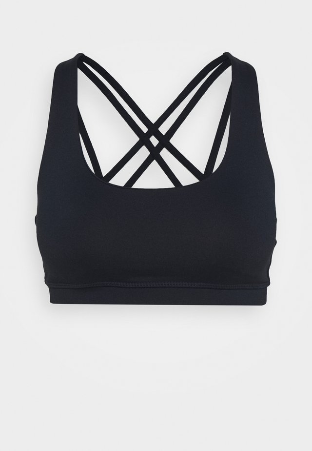STRAPPY SPORTS CROP - Sports-BH - navy