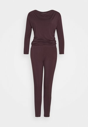 JUMPSUIT WATERFALL - Treningsdress - bordeaux