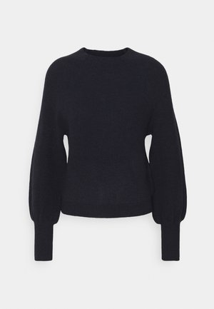 FUNNEL NECK  - Jumper - slate blue