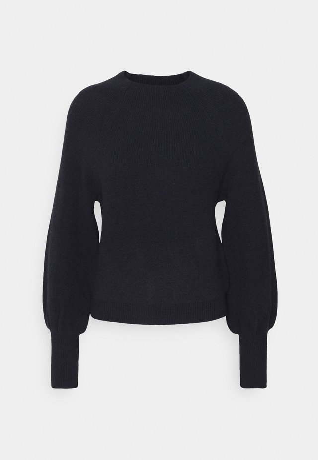 FUNNEL NECK  - Pullover - slate blue