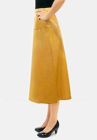 Aline Celi - CARINE - A-line skirt - caramel - 3