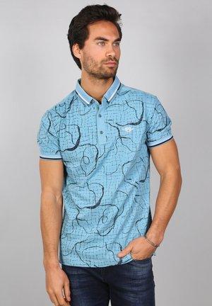 Polo shirt - pebble blue