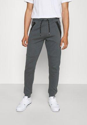 LAX PANT - Verryttelyhousut - mid grey