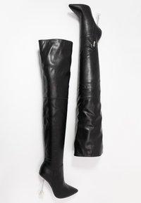 BEBO - DELTA - High heeled boots - black - 3