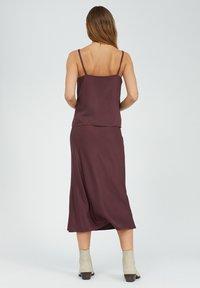ARMEDANGELS - DEVORAA - A-line skirt - aubergine - 2