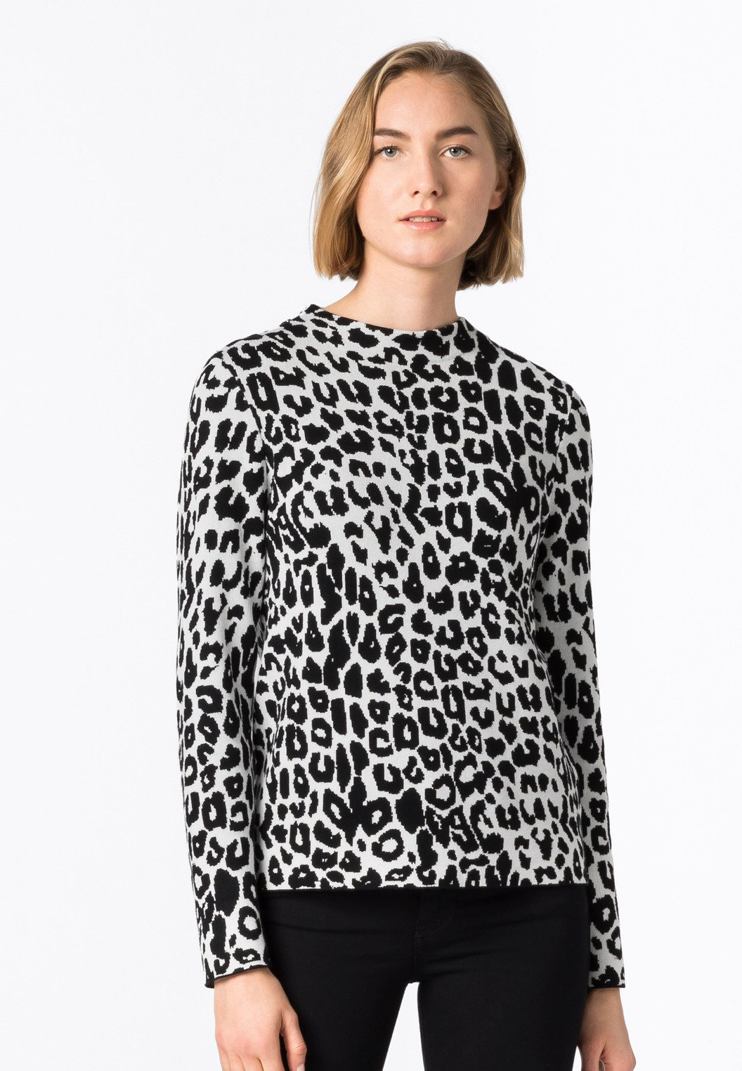 Femme MIT LEOPARDENMUSTER - Pullover