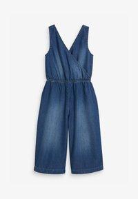 Next - WRAP  - Jumpsuit - blue denim - 1