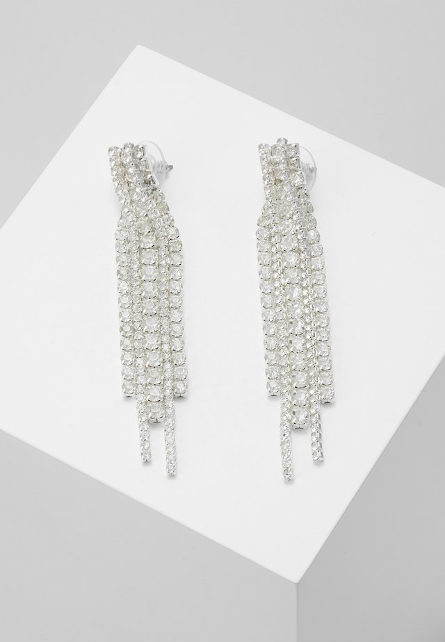 EARRINGS RACHEL - Orecchini - silver-coloured