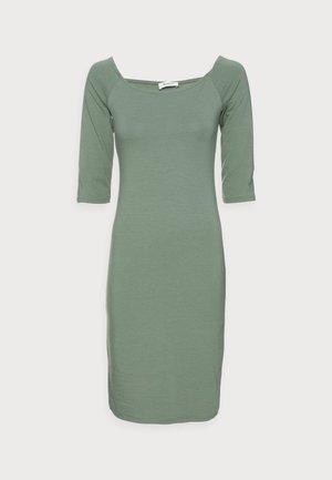 TANSY DRESS - Jersey dress - sea green