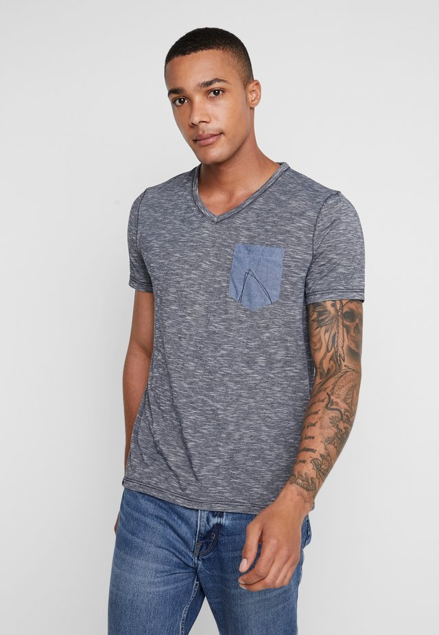 TODAY - Basic T-shirt - navy