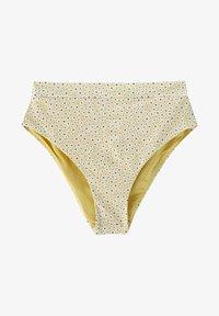 PULL&BEAR - MIT BLUMEN - Bikini bottoms - yellow - 5