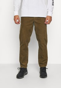 The North Face - BERKELEY FIELD PANT UTILITY - Trousers - brown - 0