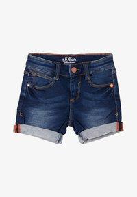 s.Oliver - BERMUDA  - Denim shorts - blue - 0