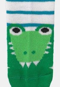 Ewers - CRODODILE 4 PACK - Socks - blue/green - 2
