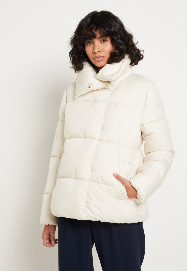 Winter jacket - vintage beige
