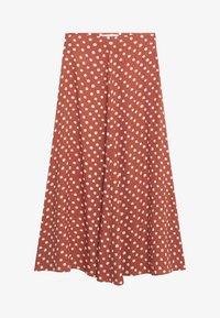 Mango - A-line skirt - braun - 5
