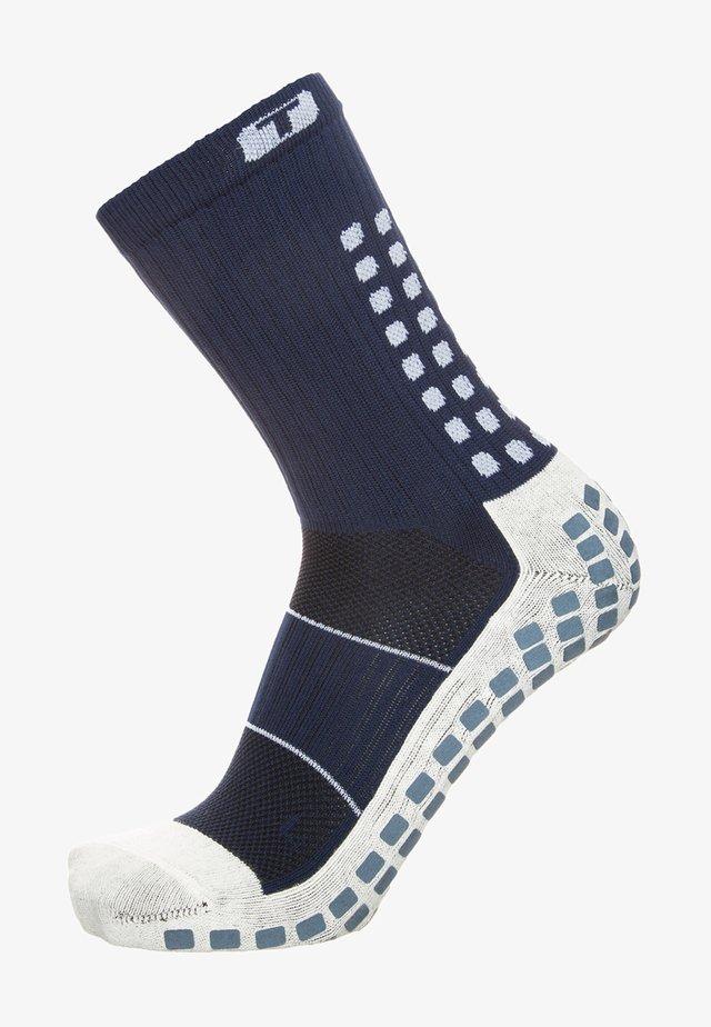 Chaussettes de sport - navy blue / white