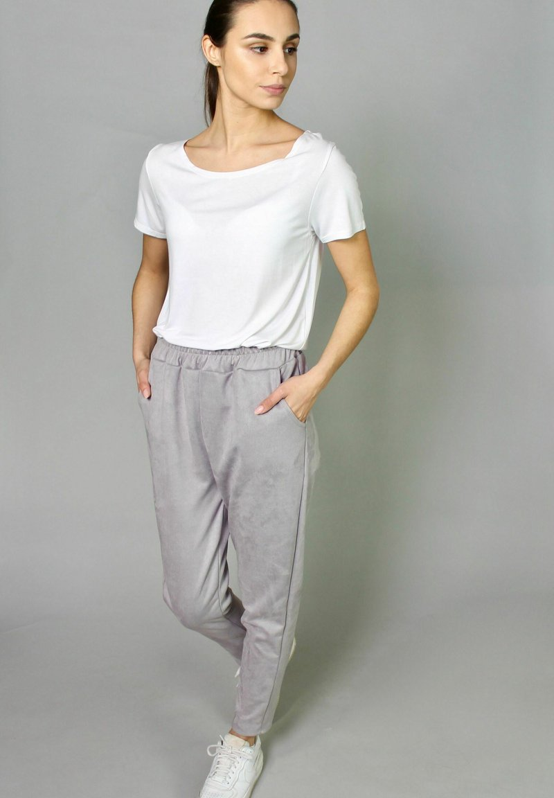 Riquai Clothing - Tracksuit bottoms - grau