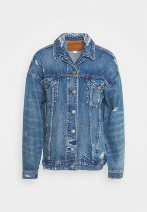 BOYFRIEND - Denim jacket - blue denim