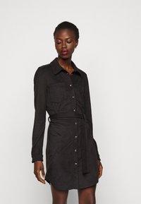 ONLY Tall - ONLBERRY DRESS - Shirt dress - black - 0