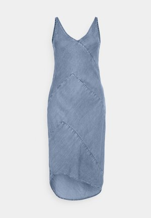 SHANTI - Denim dress - light blue denim