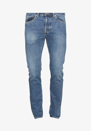 Zúžené džíny - light-blue denim