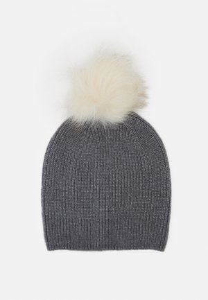 PCBINA HOOD  - Beanie - medium grey melange